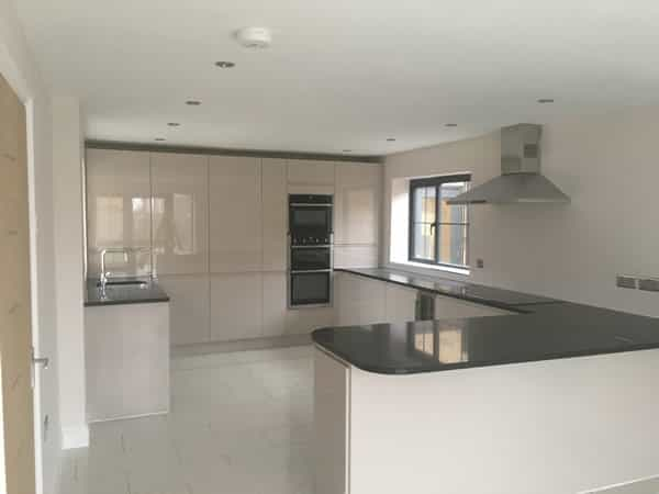 an image of a modern and refurbished kitchen