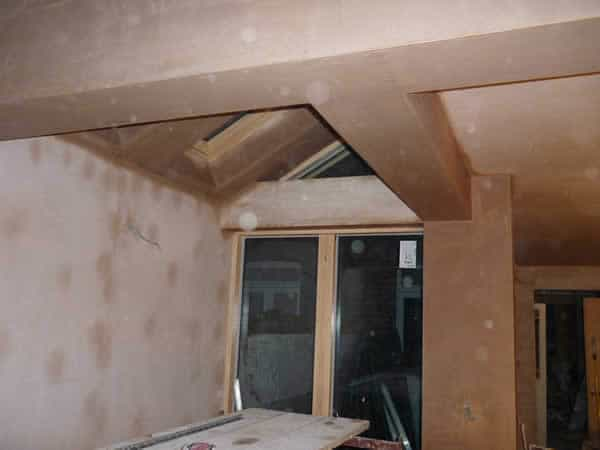 an image of an in-progress loft conversion